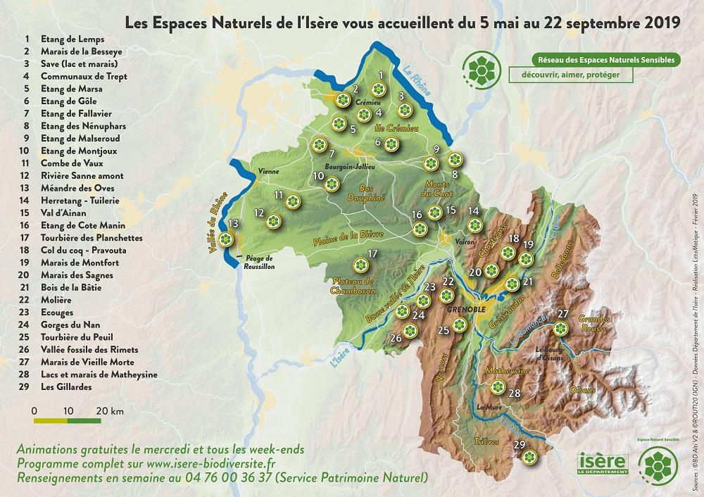 Découverte des ENS d'Isère
