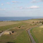 Levé photogrammétrique sur le site des batteries de Longues-sur-Mer